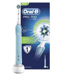 Oral B - Braun Pro 700 3D CrossAction - Eltandbørste