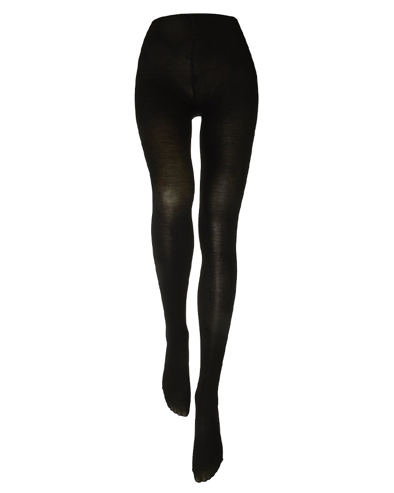 Decoy Tights With Wool - Black S/M