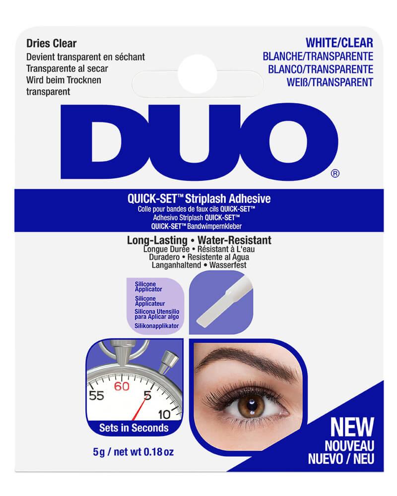 Duo Quick-Set Striplash Adhesive White/Clear 5 g
