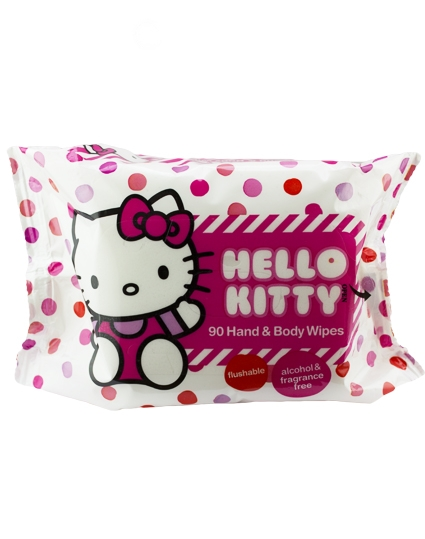 Hello Kitty Hand & Body Wipes