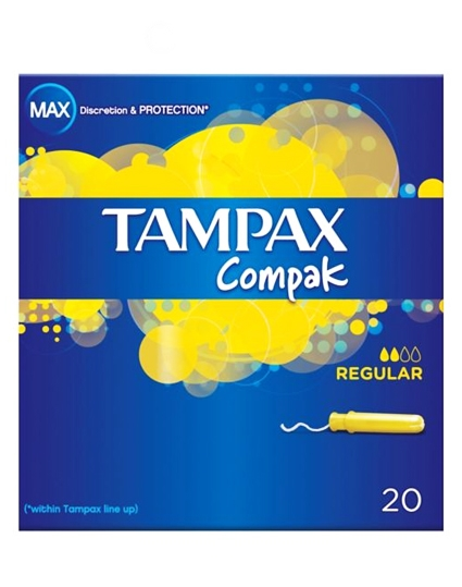 Tampax Compak - Regular