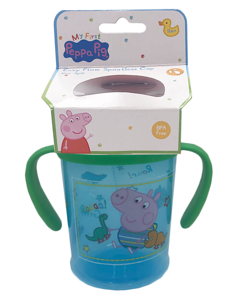 Peppa Pig Easy Flow Spoutless Cup Blue