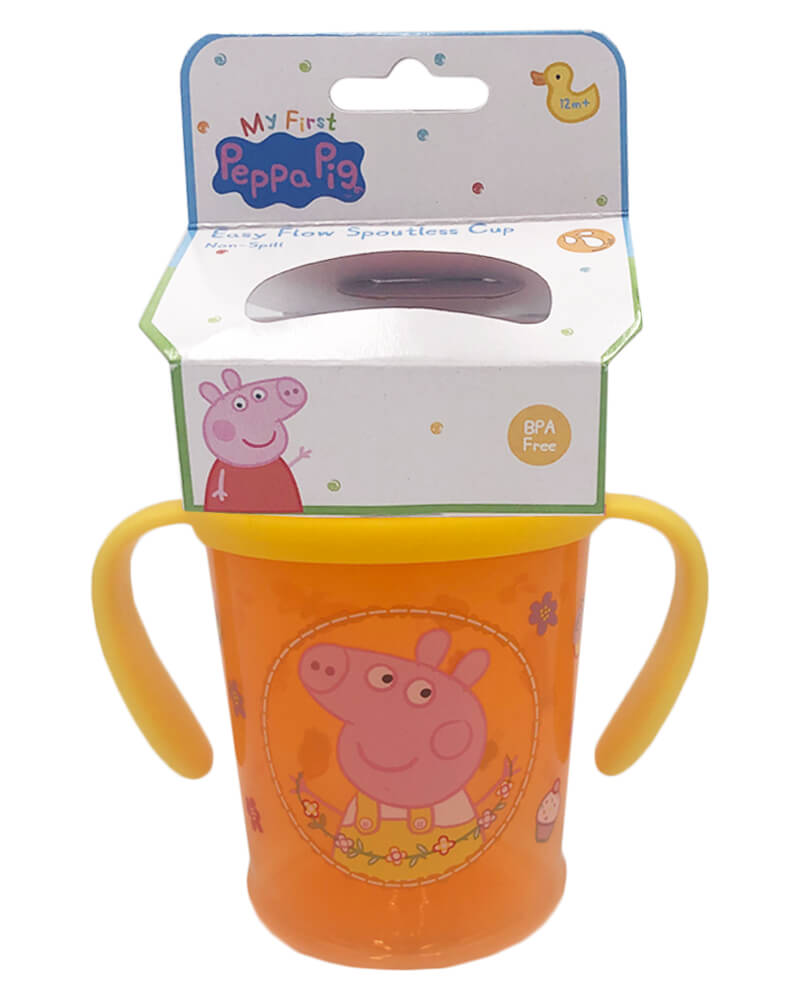 Peppa Pig Easy Flow Spoutless Cup Orange