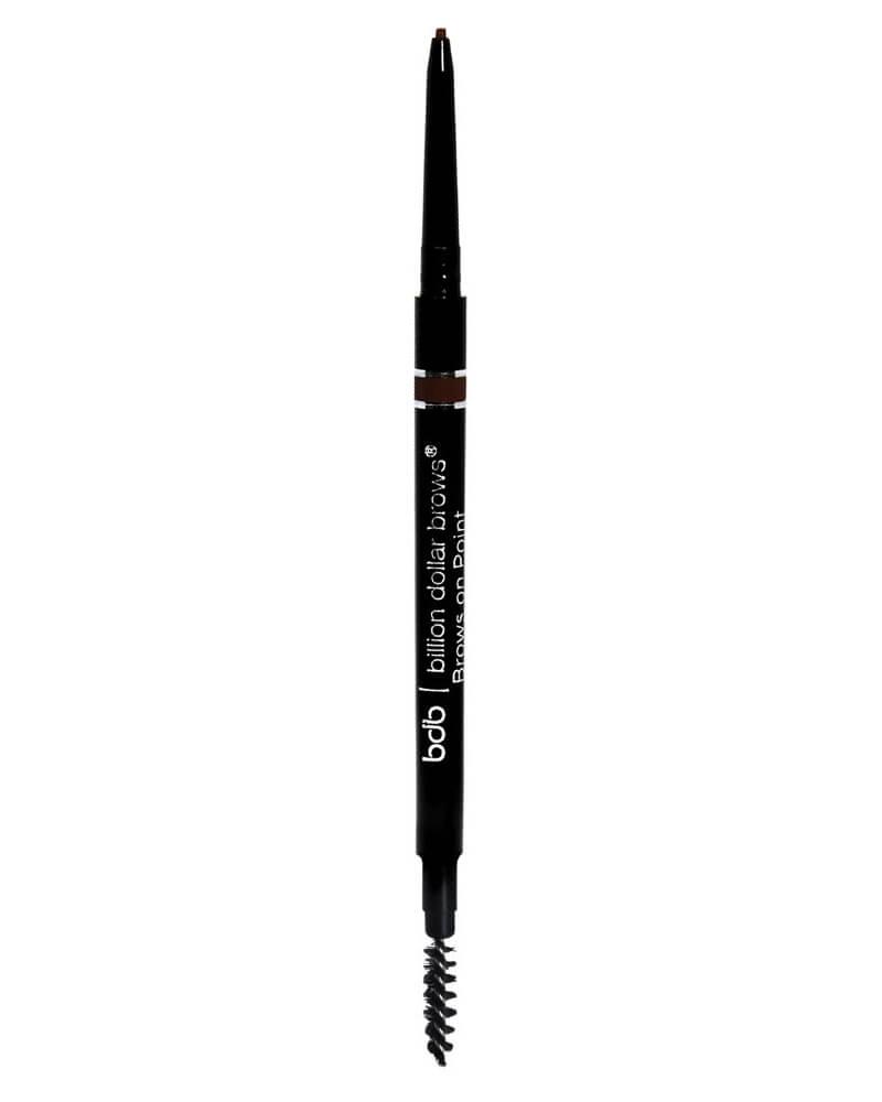 Billion Dollar Brows - Brows on Point Waterproof Micro Brow Pencil - Raven (U)