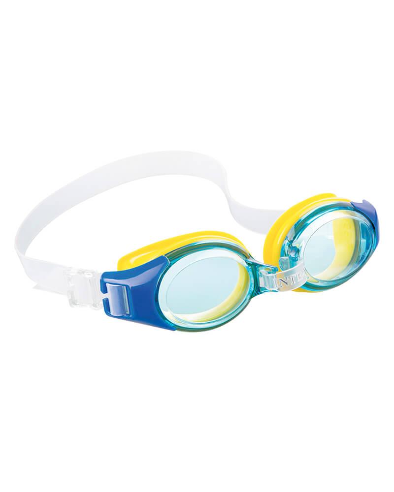 Intex Aquaflow Junior Goggles Blue