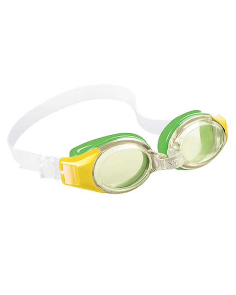 Intex Aquaflow Junior Goggles Green