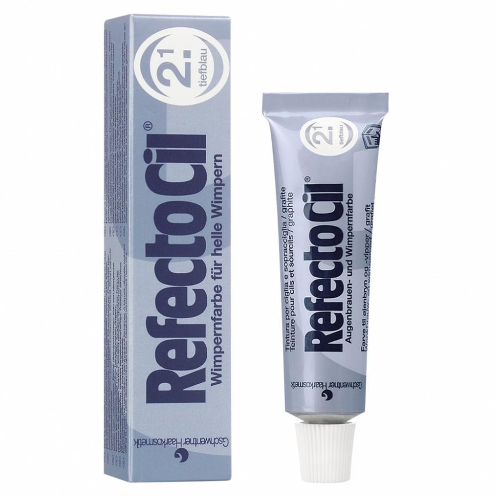 RefectoCil Eyelash And Eyebrow Tint 2.1 Deep Blue 15 ml
