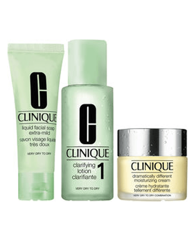 Clinique Intro Kit Skin Type 1 - Very Dry To Dry Skin 180 ml