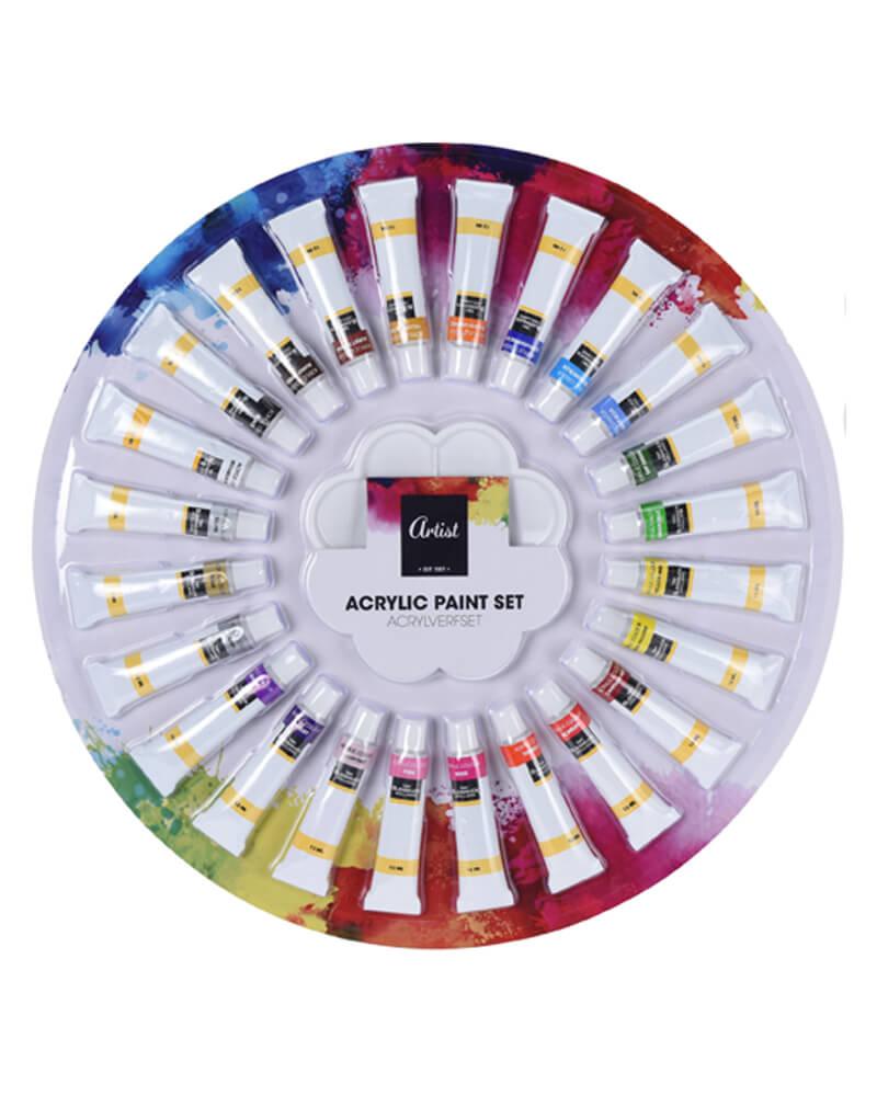 Krea Acrylic Paint Set 12 ml