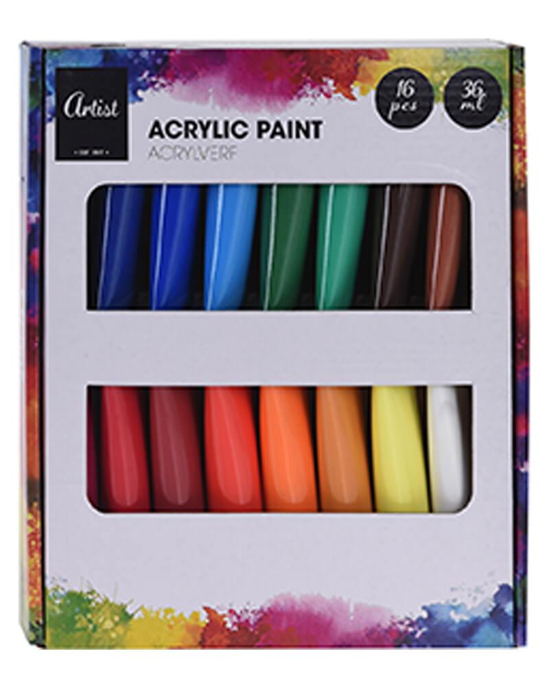 Krea Acrylic Paint Set 36 ml