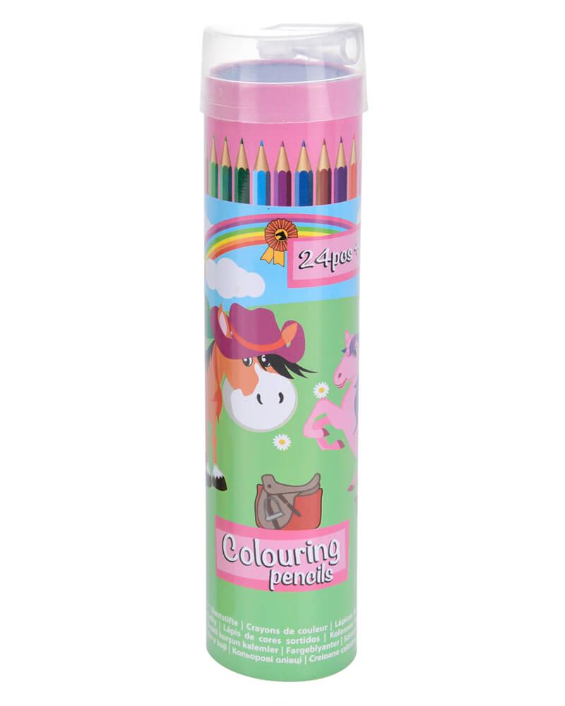 Krea Colouring Pencils Pink Box