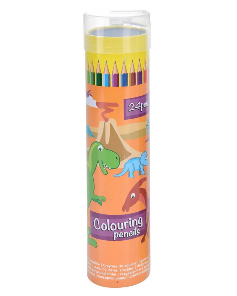 Krea Colouring Pencils Orange Box