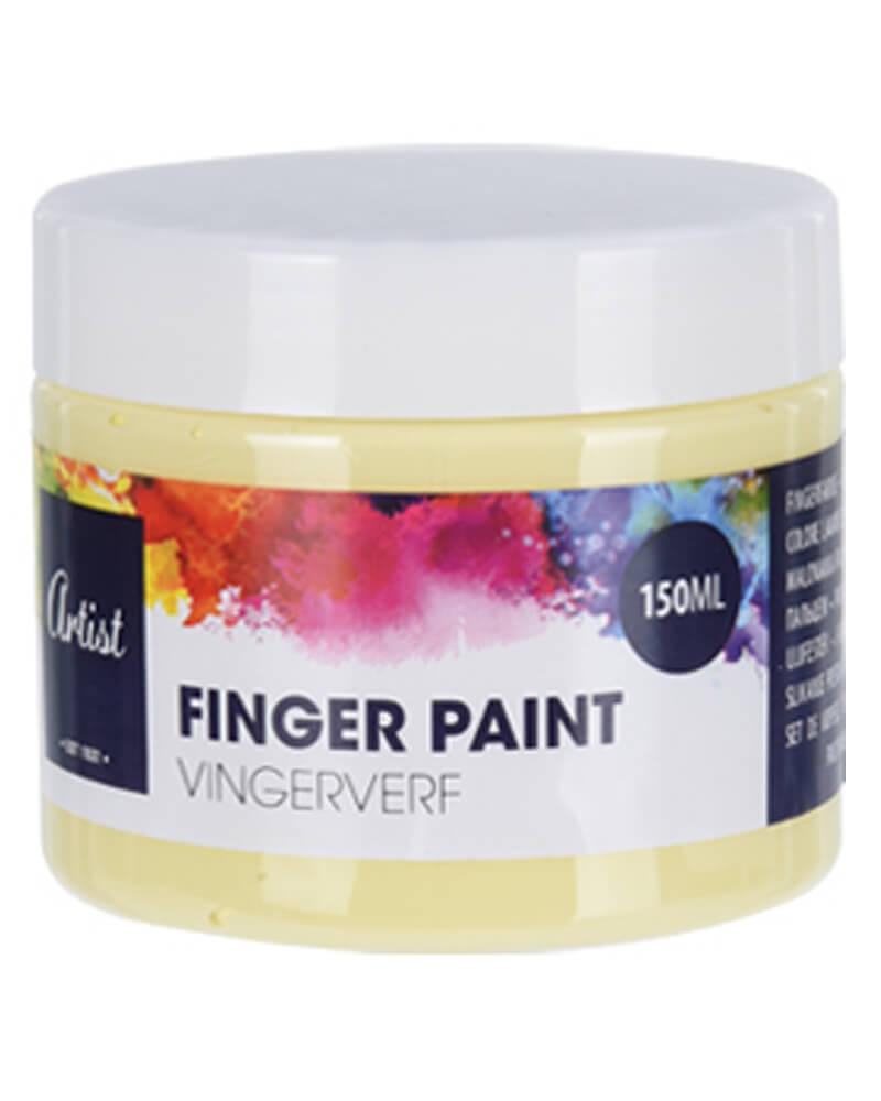 Krea Finger Paint Yellow 150 ml