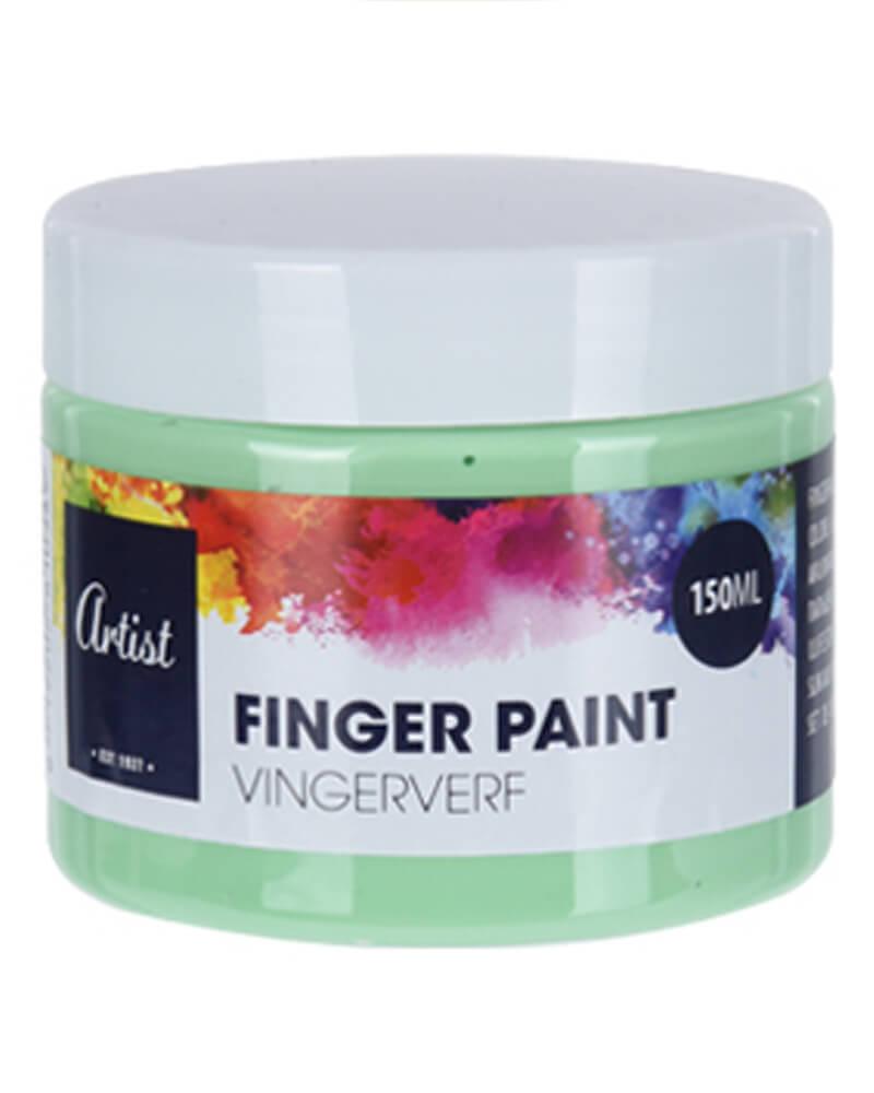 Krea Finger Paint Mint Green 150 ml