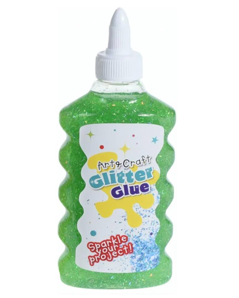 Krea Glitter Glue Green 180 ml