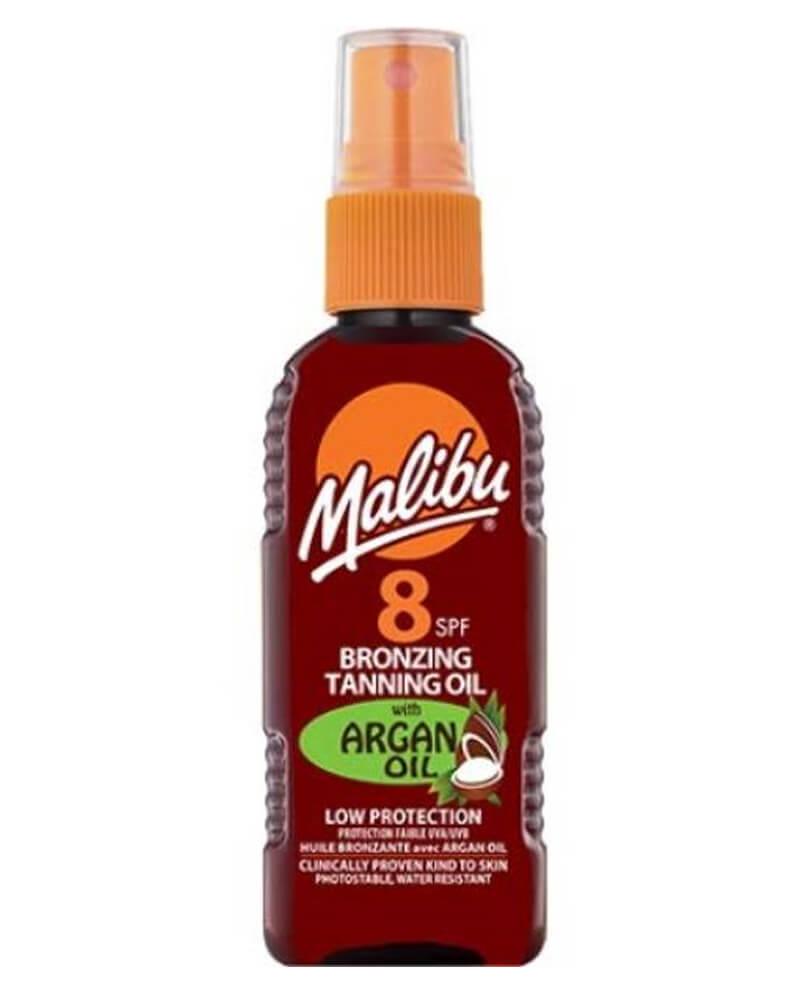 Malibu Bronzing Tanning Oil Spray Argan Oil SPF 8 100 ml