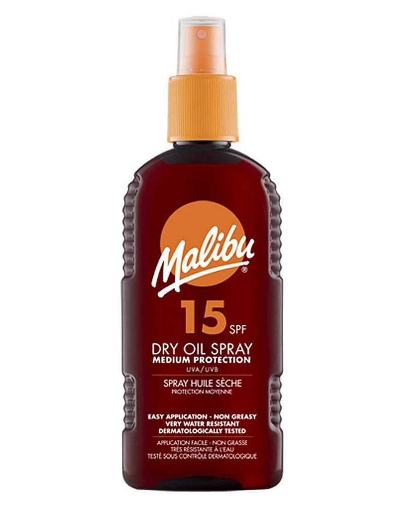 Malibu Dry Oil Sun Spray SPF 15 200 ml