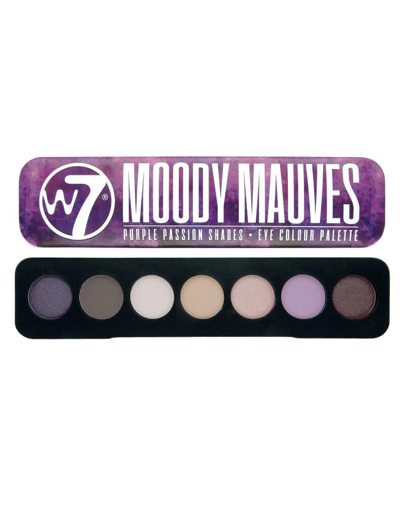 W7 Moody Mauves - Purple Passion Shades Eye Colour Palette