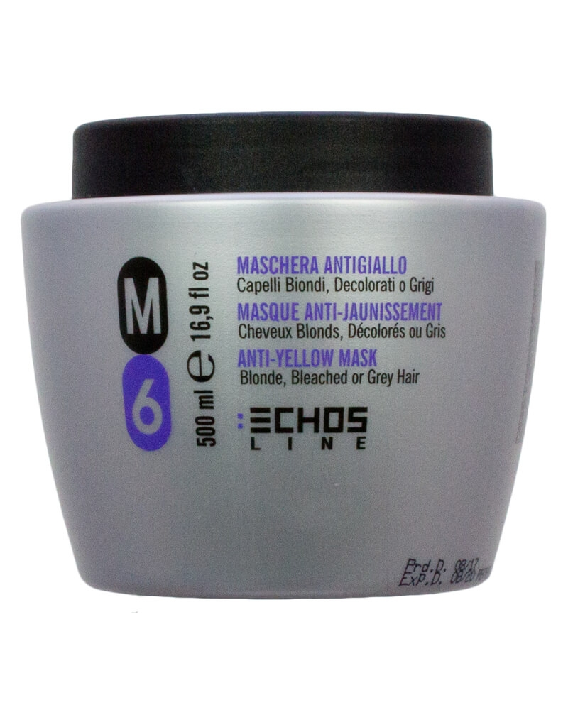 Echosline M6 Anti-Yellow Silver Mask 500 ml