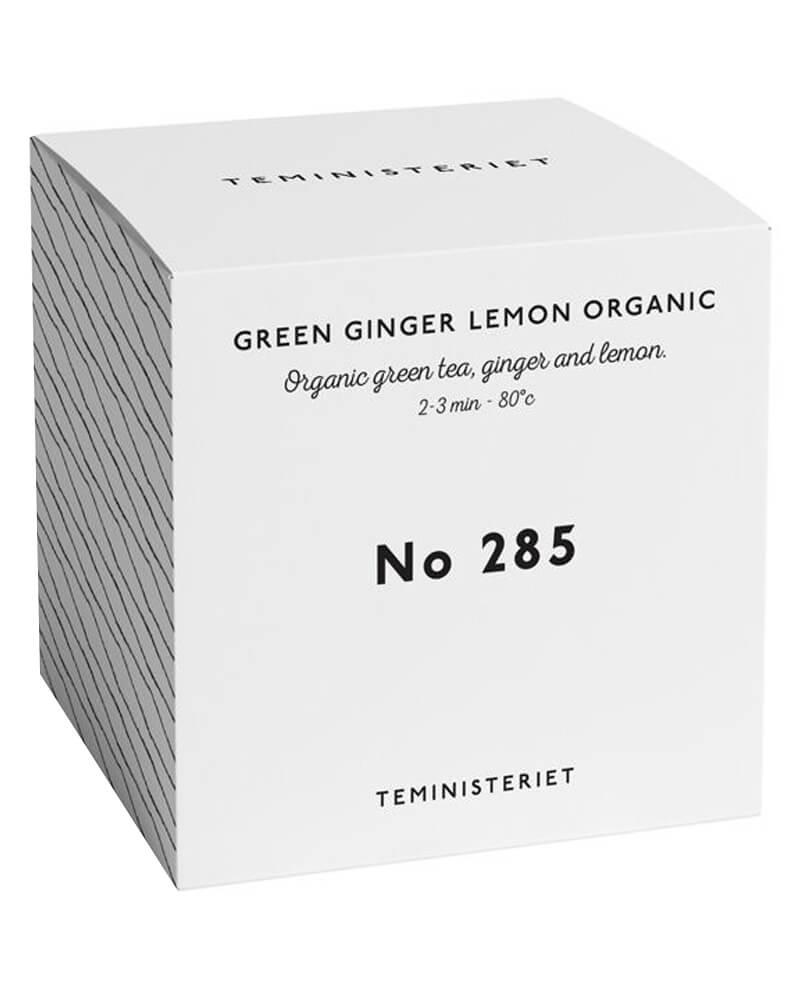 Teministeriet No 285 Green Ginger Lemon Organic Box 100 g