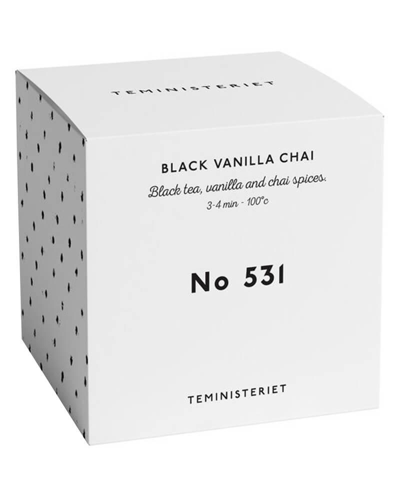 Teministeriet No 531 Black Vanilla Chai Box 100 g