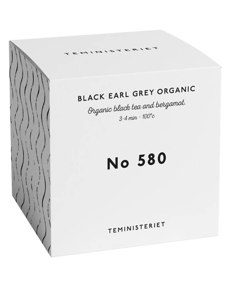 Teministeriet No 580 Black Earl Grey Organic Box 100 g