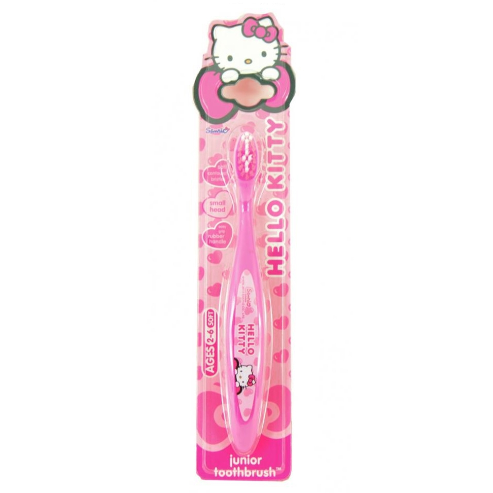 Hello Kitty Junior Toothbrush - 2-6 år