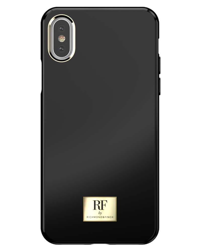 RF By Richmond And Finch Black Tar iPhone Xs Max Cover