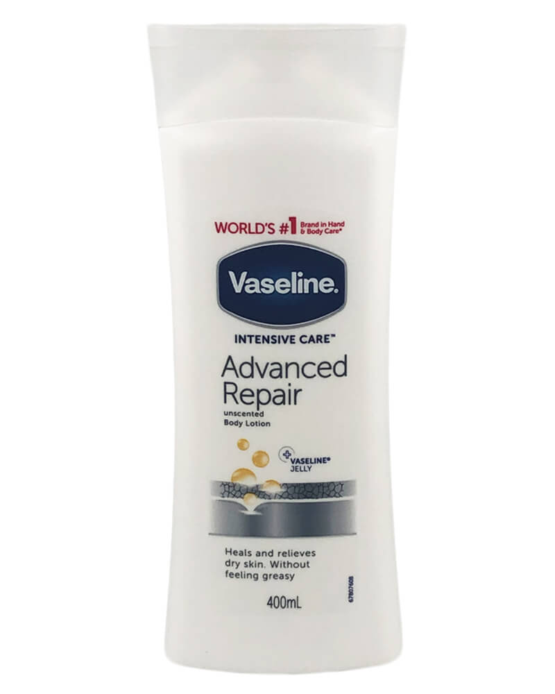 Vaseline Advanced Repair Unscented Body Lotion 400 ml
