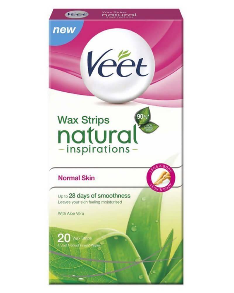 Veet Wax Strips Natural Inspirations Normal Skin