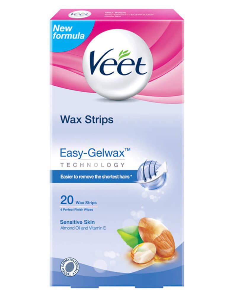 Veet Wax Strips Easy-Gelwax Sensitive Skin