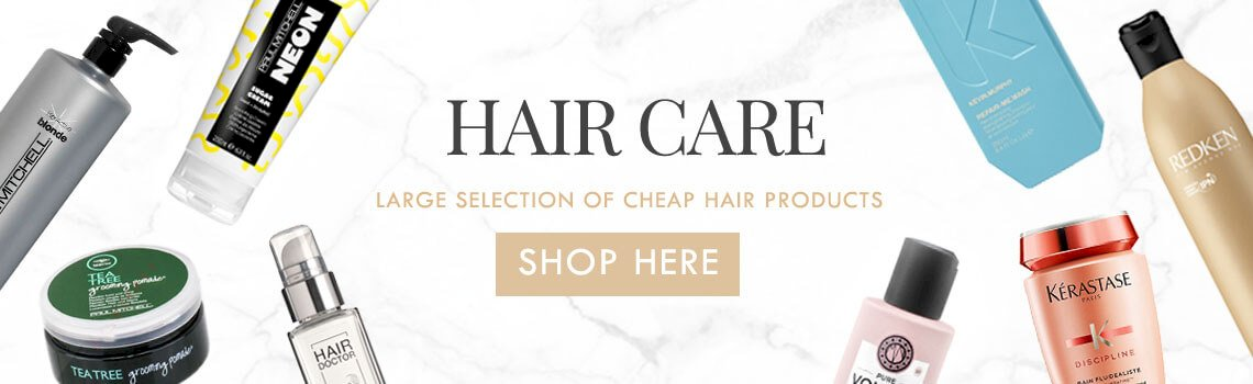See our big range of hair care products